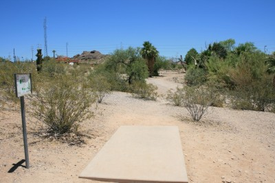 Moeur Park, Main course, Hole 4 Tee pad