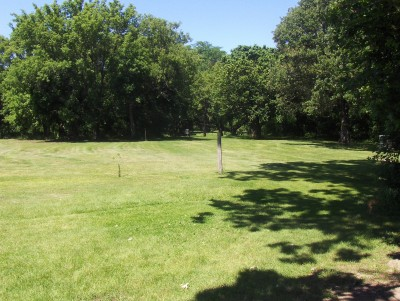 Joe Hoye Park, Main course, Hole 1 Tee pad