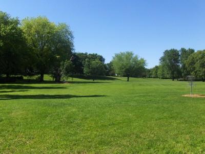 Joe Hoye Park, Main course, Hole 8 Tee pad