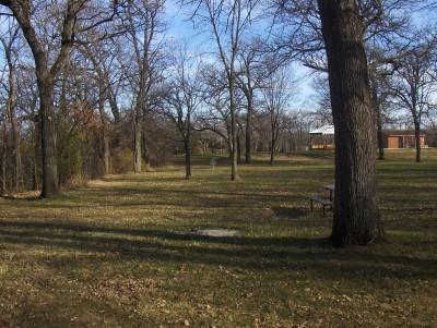 Sheldon Park, Main course, Hole 4 Tee pad