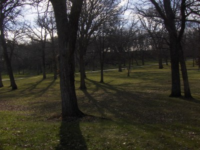 Sheldon Park, Main course, Hole 5 Tee pad
