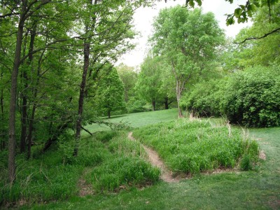 Turkey Creek, Main course, Hole 9 Tee pad