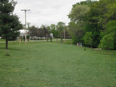 Turkey Creek, Main course, Hole 2 Tee pad