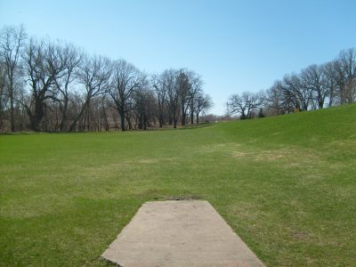 East Park, Main course, Hole 6 Tee pad