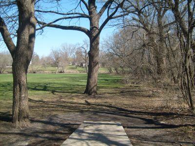 East Park, Main course, Hole 7 Tee pad