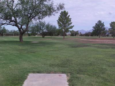 Groves Park, Main course, Hole 15 Short tee pad