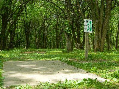 Fuller Park, Main course, Hole 11 Tee pad