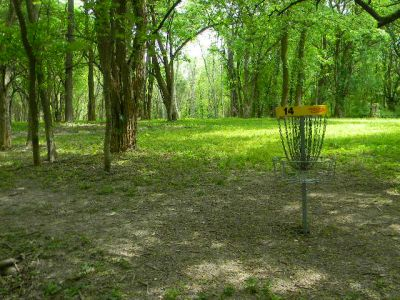 Fuller Park, Main course, Hole 14 Reverse (back up the fairway)
