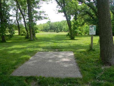 Fuller Park, Main course, Hole 17 Tee pad