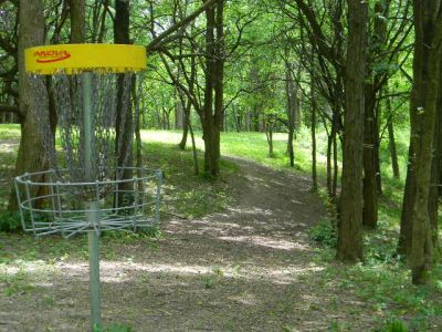 Fuller Park, Main course, Hole 7 Reverse (back up the fairway)