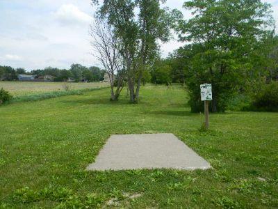 Fuller Park, Main course, Hole 16 Tee pad
