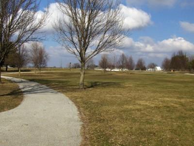 Perry DGC, Main course, Hole 5 Long tee pad