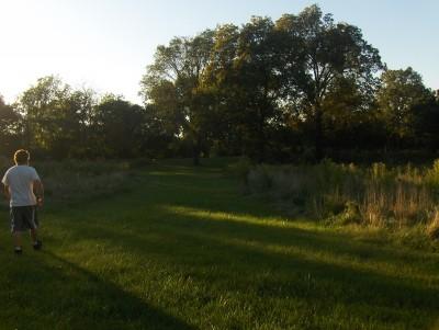Big Creek State Park, Main course, Hole 16 Short tee pad