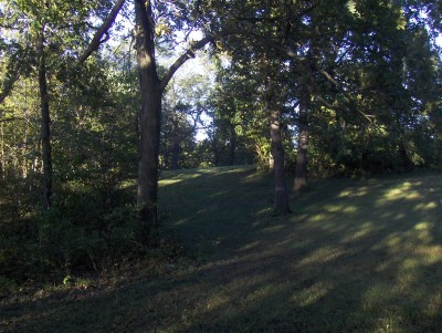 Big Creek State Park, Main course, Hole 17 Tee pad