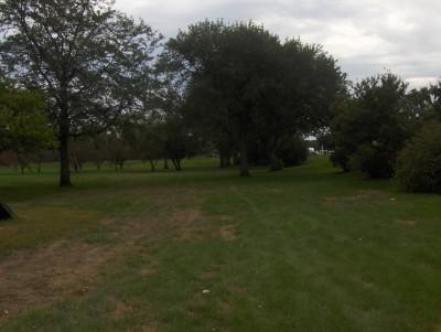 West Leach Park, Main course, Hole 1 Tee pad
