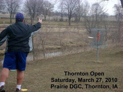 Prairie DGC, Main course, Hole 3 Putt