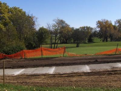 Centennial Park, Main course, Hole 9 Tee pad