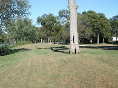 Brookwood Park, Main course, Hole 7 Tee pad