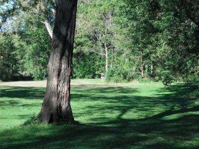Brookwood Park, Main course, Hole 2 Long tee pad