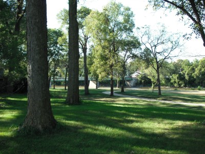 Brookwood Park, Main course, Hole 6 Long tee pad