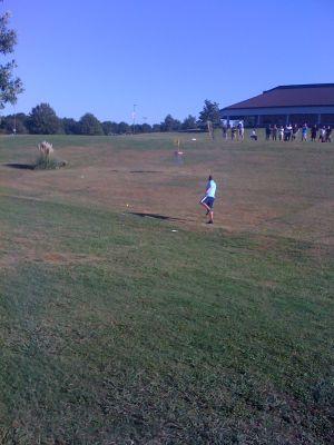 Winthrop University, Gold Championship, Hole 11 Putt