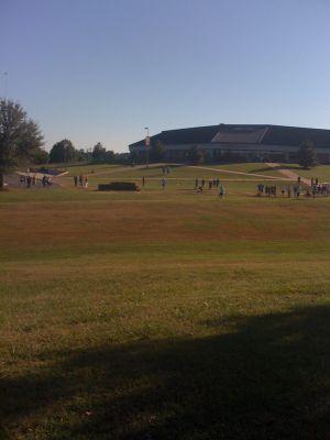Winthrop University, Gold Championship, Hole 12 Reverse (back up the fairway)