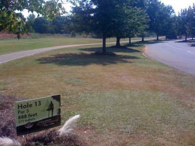 Winthrop University, Gold Championship, Hole 13 Tee pad