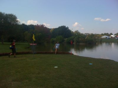 Winthrop University, Gold Championship, Hole 17 Putt