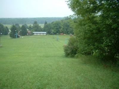 Timber Ridge, Main course, Hole 2 Tee pad