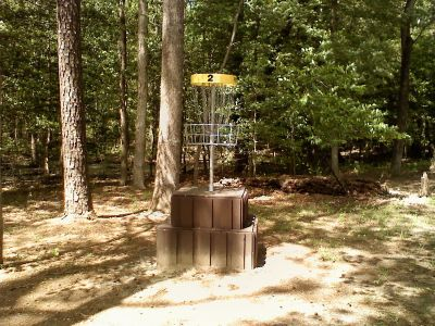 Trap Pond State Park, Main course, Hole 2 Putt
