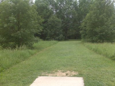 White Clay Creek State Park, Main course, Hole 13 Tee pad