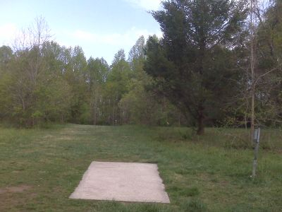White Clay Creek State Park, Main course, Hole 9 Tee pad