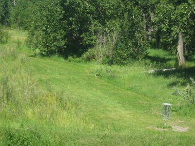 Centenary Park, Main course, Hole 9 Midrange approach