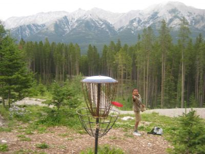 Canmore Nordic Centre, Main course, Hole 14 Putt
