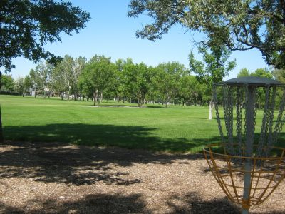 Nicholas Sheran Park, Main course, Hole 2 Reverse (back up the fairway)