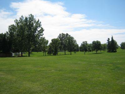 Nicholas Sheran Park, Main course, Hole 7 Middle tee pad