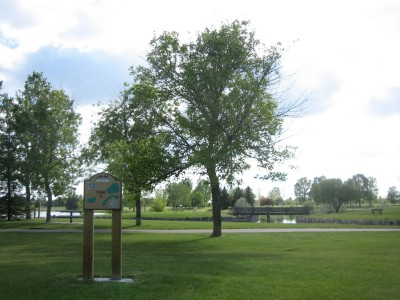 Nicholas Sheran Park, Main course, Hole 13 Long tee pad