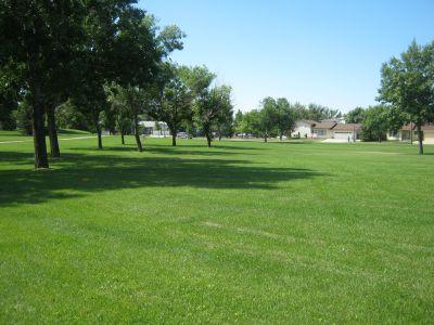 Nicholas Sheran Park, Main course, Hole 18 Long approach