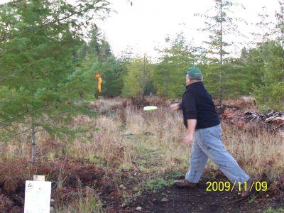 Black Creek Community DGC, Main course, Hole 4 Tee pad