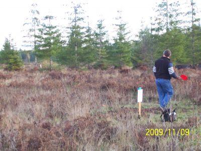 Black Creek Community DGC, Main course, Hole 5 Middle tee pad