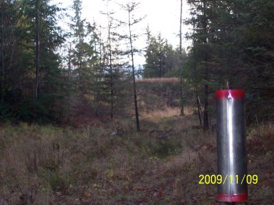 Black Creek Community DGC, Main course, Hole 9 Reverse (back up the fairway)