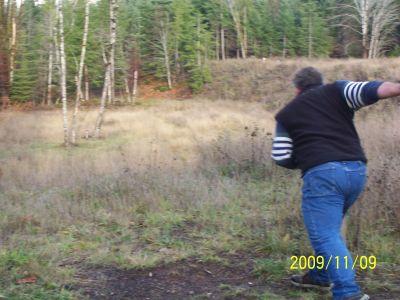Black Creek Community DGC, Main course, Hole 8 Middle tee pad