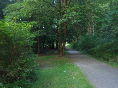 Robert Burnaby Park, Main course, Hole 5 Tee pad
