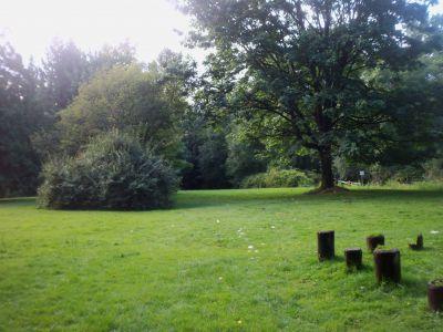 Robert Burnaby Park, Main course, Hole 6 Tee pad
