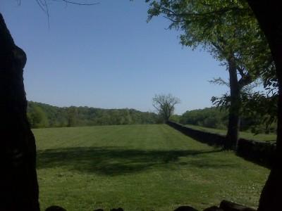 Brandywine Creek State Park, Main course, Hole 1 Tee pad