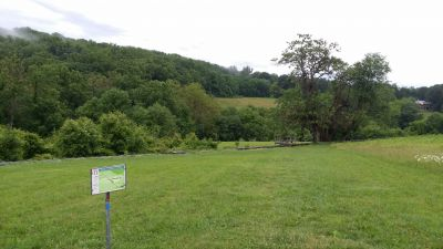 Brandywine Creek State Park, Main course, Hole 11 Tee pad