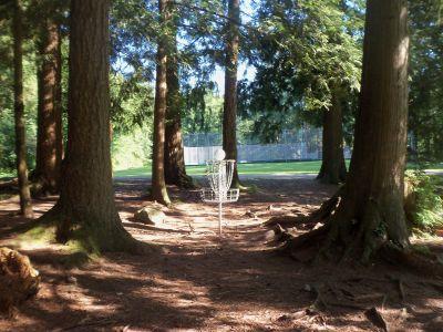 Mundy Park, Main course, Hole 1 Putt