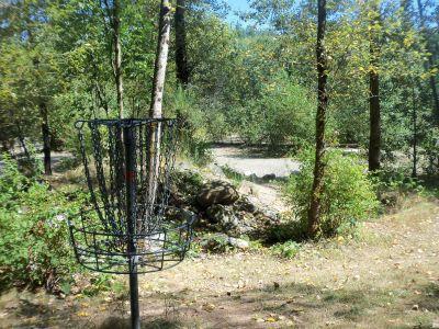 Langley Passive Park, Main course, Hole 17 Putt