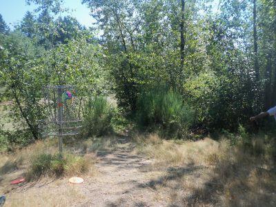 Langley Passive Park, Main course, Hole 12 Putt
