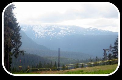 Mt. Washington Fly Zone, Main course, Hole 7 Tee pad